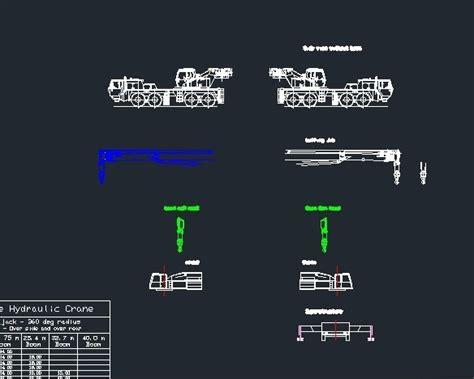 nk mobile kato nk 500 mobile telescopic boom crane autocad 3d