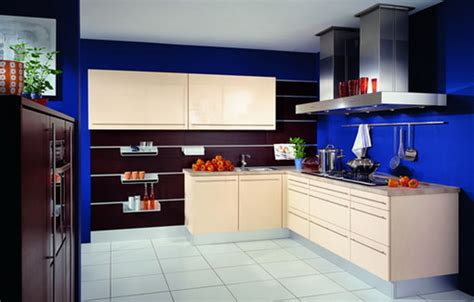kitchens with blue walls my fantasy home blue accent k 252 che wandfarbe 40 ideen f 252 r farbgestaltung der k 252 che