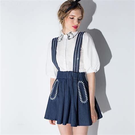 Overall Skirt By Jlty Fashion popular denim overall skirt buy cheap denim overall skirt