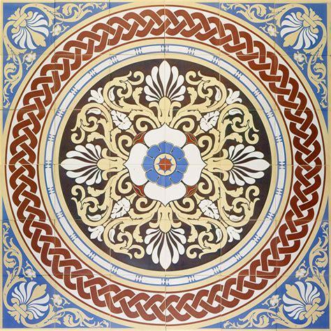 the blue palmerston palmerston blue m 246 nsterplattor encaustic floor tiles