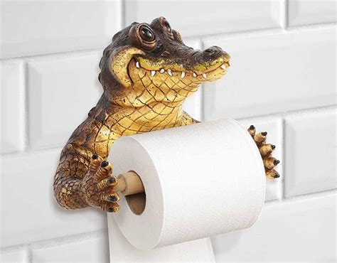 animal toilet paper holder 50 best unique toilet paper holders 16 creative toilet