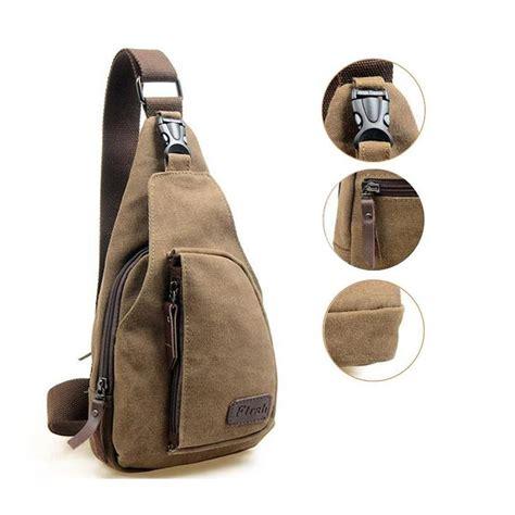 J869 Tas Slempang Fashions Import jual beli murah tas slempang pria import kanvas militer