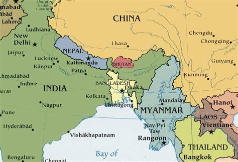 map of bhutan in world map 20 facts about bhutan that will make you want to live there