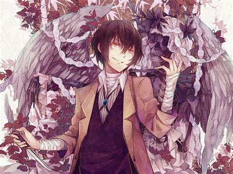bungou stray dogs wiki bungou stray dogs images dazai wallpaper and background photos 39917549