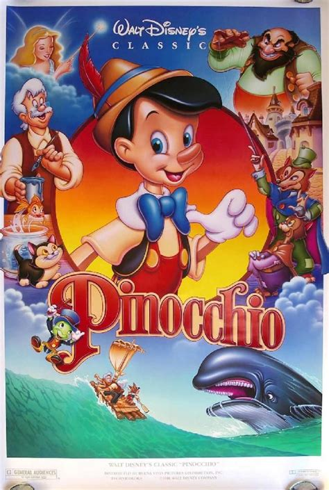 film disney version x pinocchio walt disney movie poster 4 disney movies