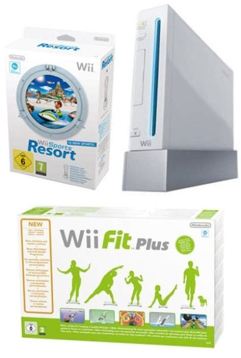 wii console sports resort bundle nintendo wii console bundle including wii sports resort