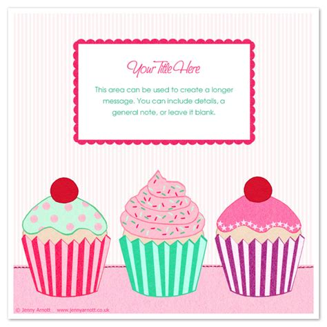 cupcakes invitations cards on pingg com