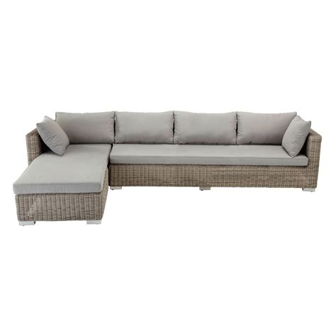 4 Seater Wicker Garden Corner Sofa Cape Town Maisons Du