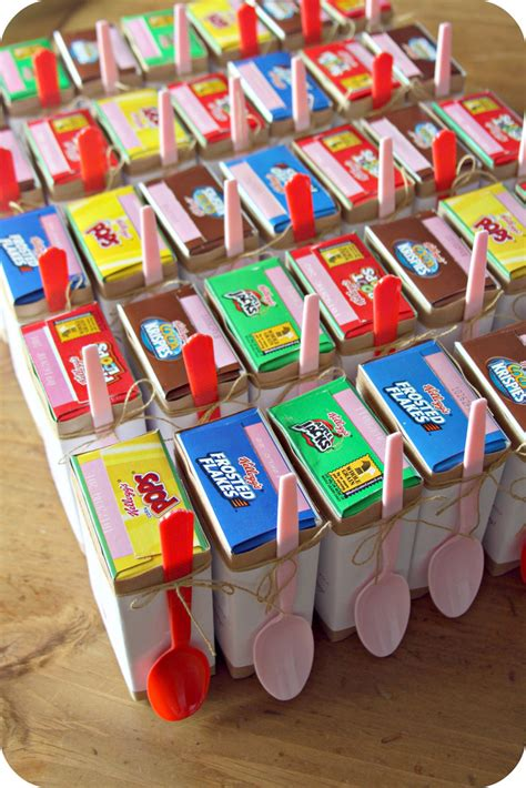 cereal box valentines whimsy miniature cereal box valentines