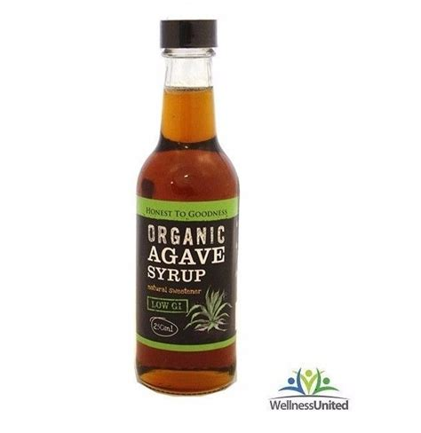 organic agave syrup 250ml natural sweetener vegan friendly ebay