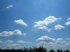 Meandering blue skies