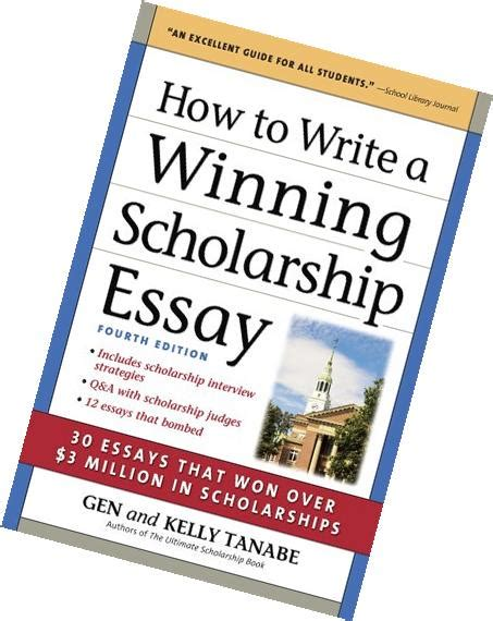 How To Write A Winning Scholarship Essay by How To Write A Winning Scholarship Essay Exle