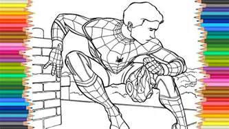 Spider Man Homecoming Coloring Page L Coloring Markers