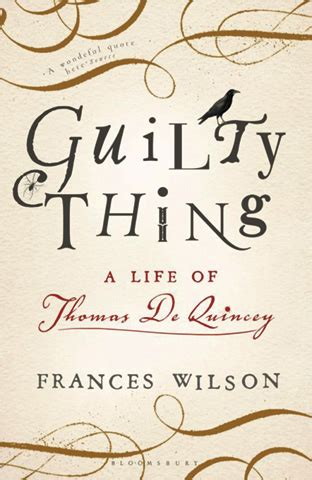 guilty thing a life bookshelf recommended reading drink and drugs news