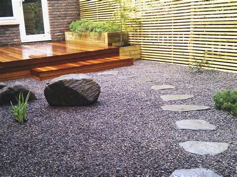 slate chippings paving landscaping