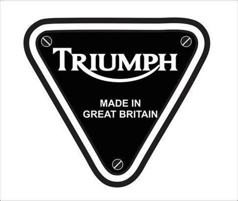 Triumph Motorrad Logo by Triumph Motorcycle Logo Vector Vector Free Vectors
