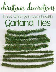 Decorating Banisters Christmas Decorations Using Garland Ties In My Own Style