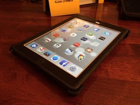 youtube tutorial ipad air otterbox defender for ipad air and kindle fire hdx 8 9