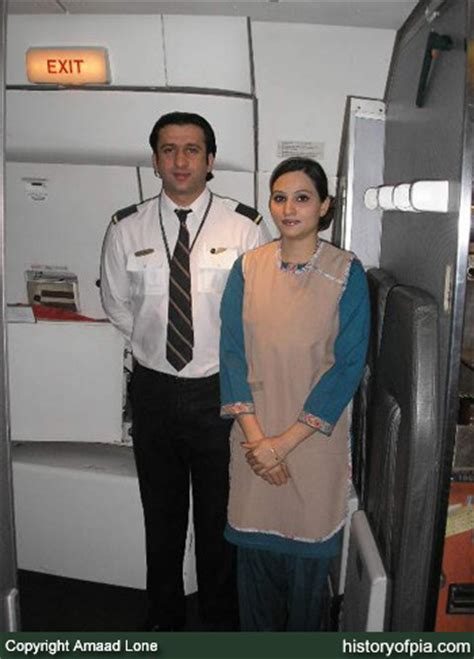Cabin Crew Steward history of pia pakistan international airlines