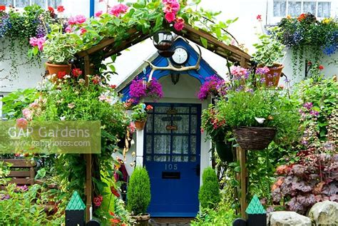 cottage garden arches gap gardens colourful cottage front garden and arch with