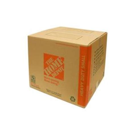 home depot small moving box the home depot 16 in x 12 in x 12 in 85 lb heavy duty