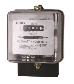 Kwh Meter 1phase 5 20 A Analog Merk Fuji sell127v 230v single phase front board installation analog energy meter kwh meter electric