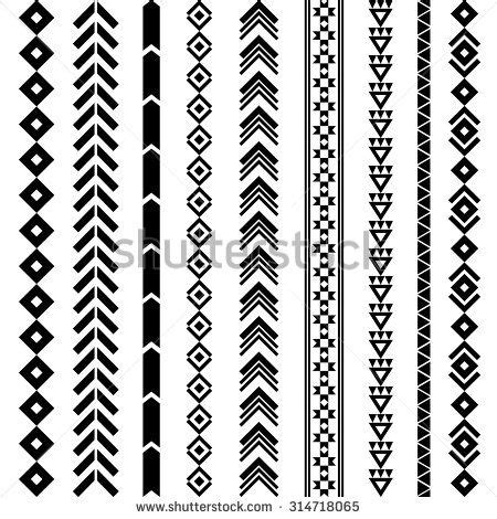 aztec tribal pattern tattoos navajo geometric designs tribal geometric pattern