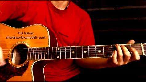 daft punk chord the game of love chords quot daft punk quot chordsworld guitar