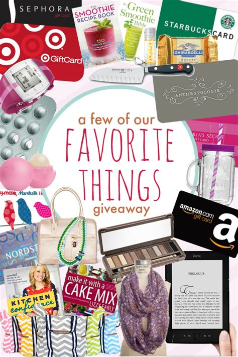 Favorite Things Giveaway - mother s day quot our favorite things quot giveaway something swanky