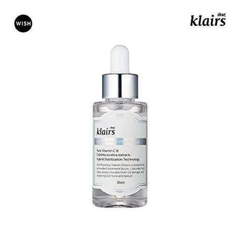 Serum Vitamin C Klairs klairs freshly juiced vitamin drop 5 vitamin c