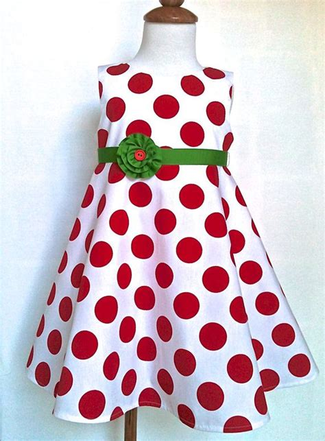 Geos Albian Green Polka 7 best clothes for maggie etsy images on clothes dresses and