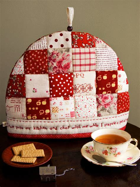 The Patchwork Teahouse - patchworkpottery tea cozy garden