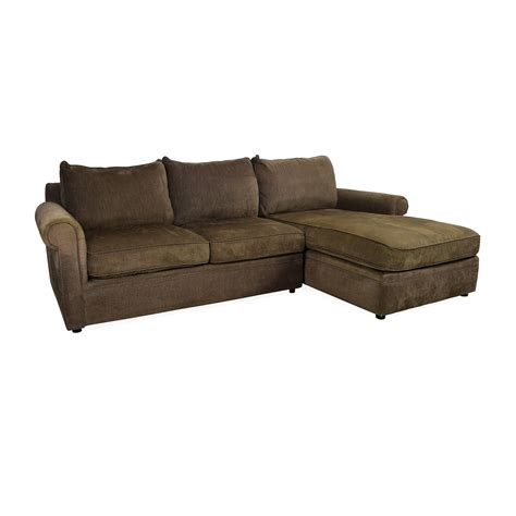 bloomingdales couches bloomingdales sofas sectional 56 off black leather tufted