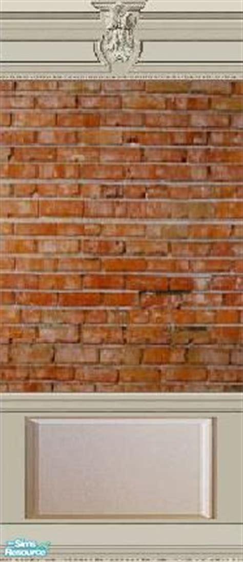 Brick Wainscoting Panels Jessdrakesims Brick With Royal Crown Molding And Flat