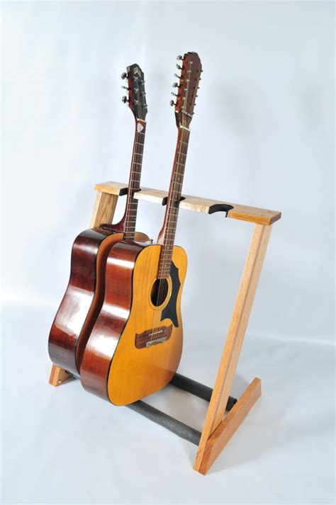 Stand Gitar Isi 3 Stand Gitar 3 space oak acoustic guitar stand handcrafted from