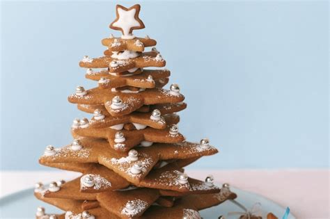 tree gingerbread gingerbread tree recipe taste au
