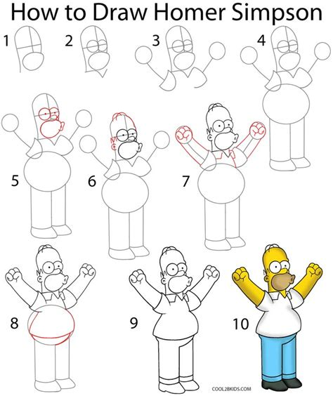 How To Draw The Simpsons On The by How To Draw The Simpsons Better