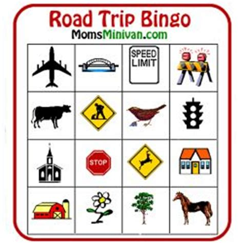 printable games to play in the car printable car activities for kids