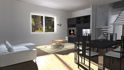 esempi  render fotorealistici interni  progetto