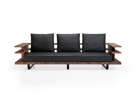 wrap sofa faruk malhan s gazel sofa features modern wrap around