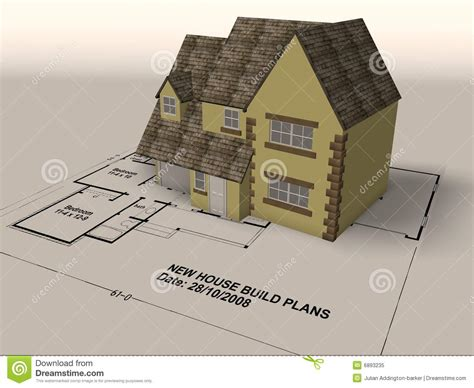 home designer pro sle plans new home on a set of architect plans royalty free stock