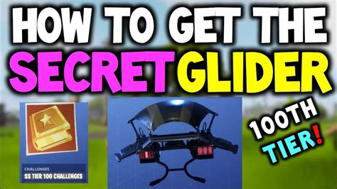 fortnite tier 100 challenges how to get the secret tier 100 challenge reward in