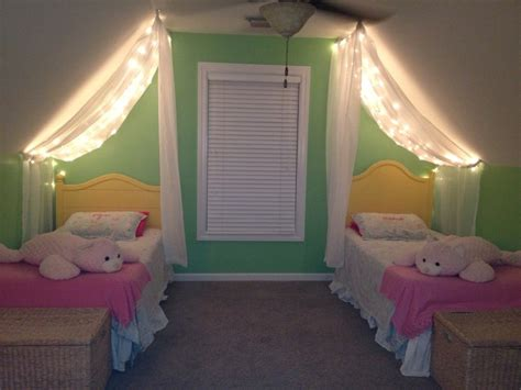 girls bedroom ceiling lights slanted ceiling canopies and ceilings on pinterest