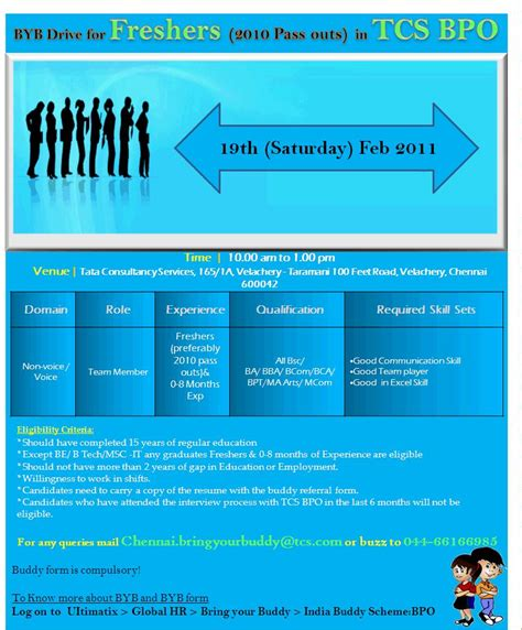 Tcs Recruitment Process For Mba Freshers by Freshers 2010 Passout In Tcs Bpo Walkin