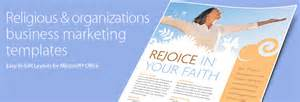 religious flyers template free religious organizations brochures flyers word