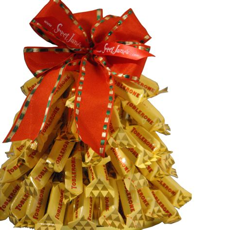 chocolate toblerone holiday tree sweet janes