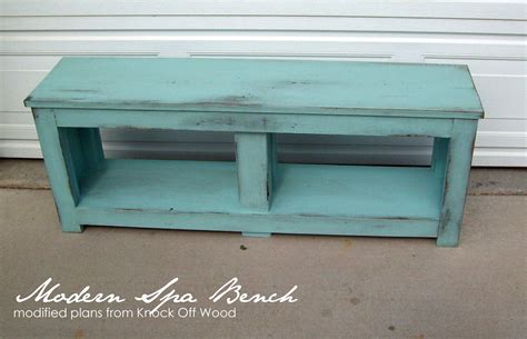 spa benches ana white aqua spa bench for entry diy projects
