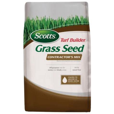 scotts turf builder 20 lb contractor s mix northern