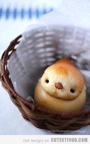 baby bird bread too cute to eat