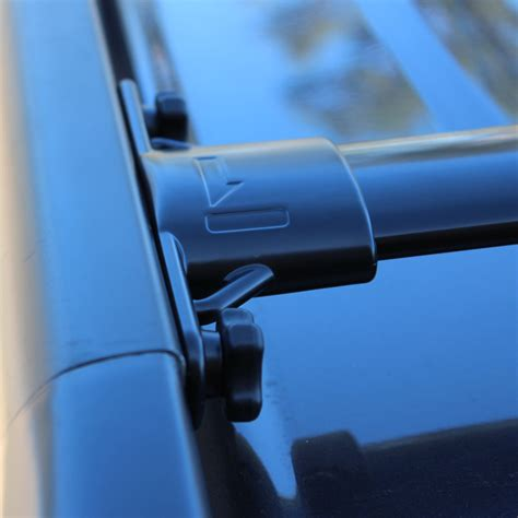 Low Profile Roof Rack Cross Bars by Toyota Landcruiser 200 Series Flush Low Profile Roof Rack